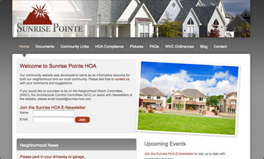 HOA Web Solutions - Home Owners Association Website Design